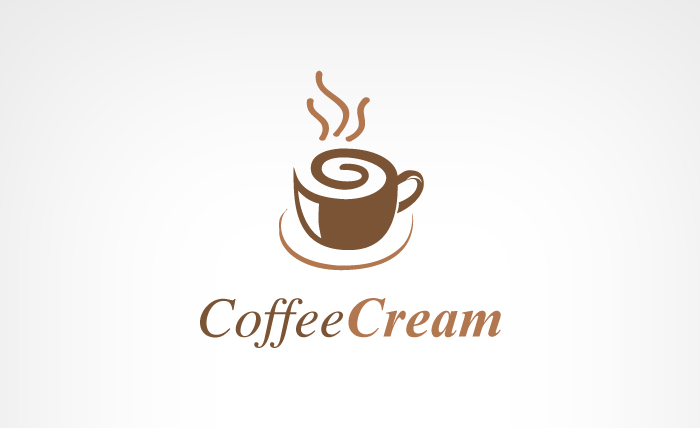 coffee11 - Coffee Cream Logo